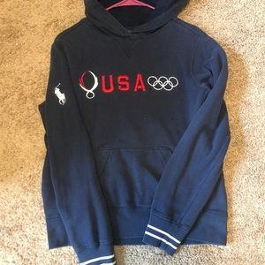 Vintage Ralph Lauren Olympic Hoodie